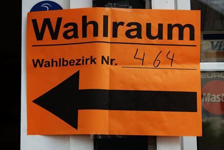 Wahlraum: Wahlbezirk: 464