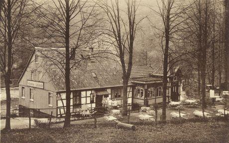 Waldschenke Wiesenkotten: um 1940