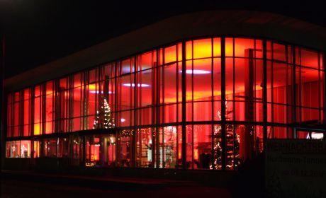 Alte Wartehalle: am ehemaligen Solinger Hauptbahnhof