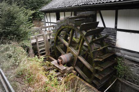 Wasserkraft: regenerative Energie, wird hier schon seit 500 Jahren genutzt