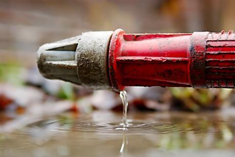 Wasserspritze: wird nicht mehr benötigt