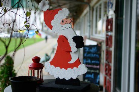 Der Weihnachtsmann ist angesagt