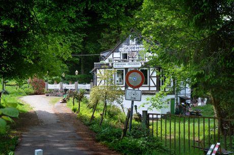 Wiesenkotten: die Waldschänke scheint geschlossen zu sein