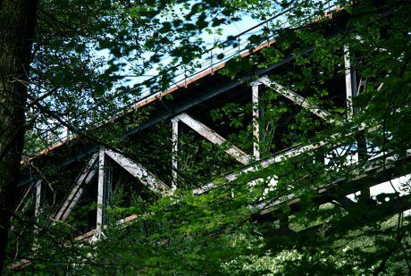 Das Windfelner Tal überspannende Viadukt