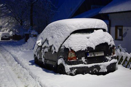 Schneekleid im Dezember 2010