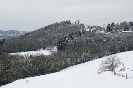 Schnee nennt sich das weiße Zeug