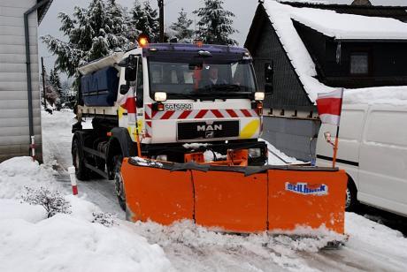 Solinger Winterdienst: 3.2.2010