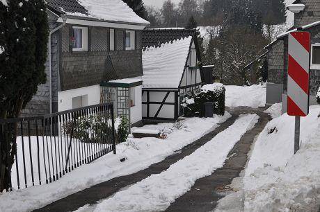 winterliche Eindrücke aus einer Solinger Hofschaft