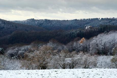 Wupperberge: mit Burg Hohenscheid