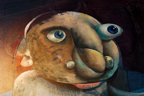 woher wohin: (Hommage an Max Ernst von Dominik Sartor) - Detail