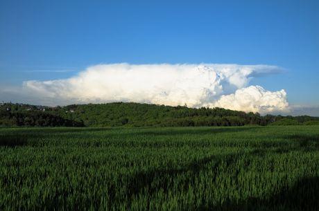 Eine kleine Wolke südlich von Remscheid