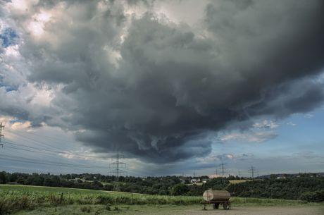 Wolken über Wieden