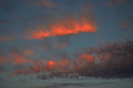 Blue/red Sky
