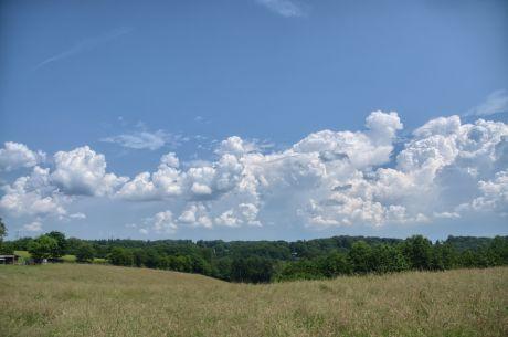 Wolkenformation: da geht noch etwas