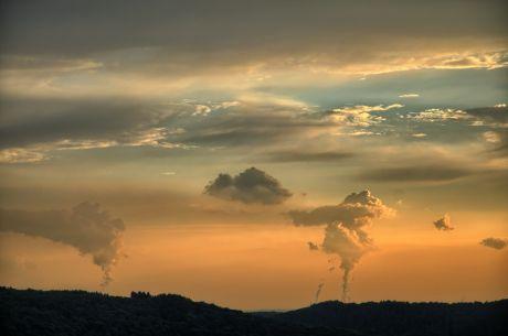 Am Abend, die Wolkenmacher