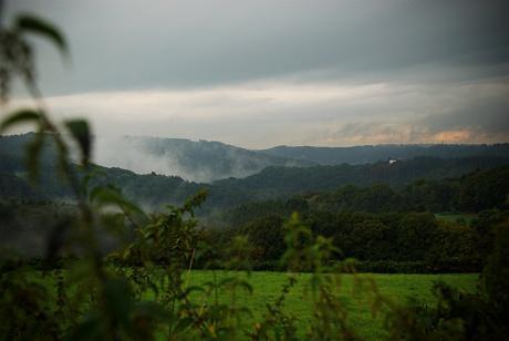Wupperberge: Herbstanfang 2009, wenn auch nur für die Meteorologen