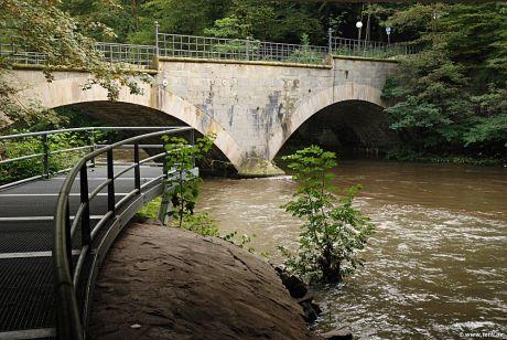 """Die französische """"Kaiserbrücke"""": Wupperquerung"""