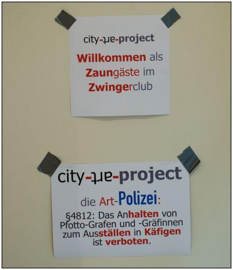 Willkommen als Zaungäste im Zwingerclub