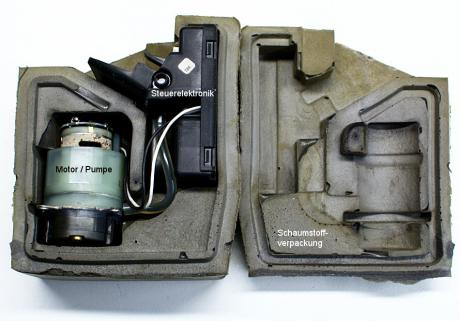 Luftdruckpumpe inklusive Verpackung