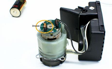 Elektromotor für die Pumpe