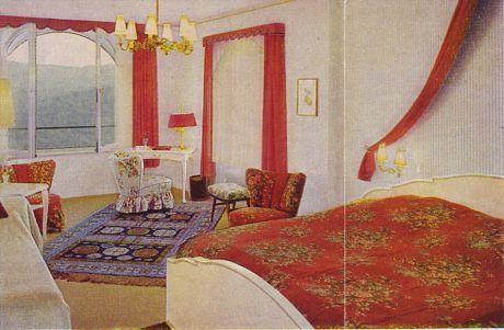 Zimmer im Hotel Burg Hohenscheid: so sahen sie damals aus