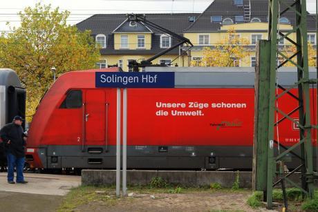 Unsere Züge: schonen die Umwelt
