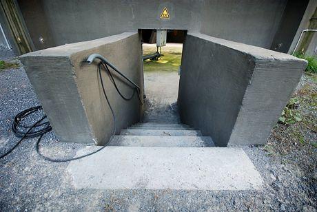 Zugang unter die Kugel