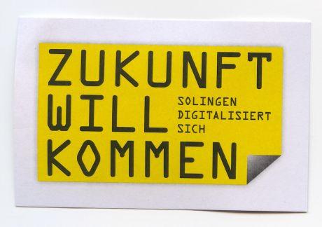 Marke: Zukunft will kommen -- Solingen digitalisiert sich
