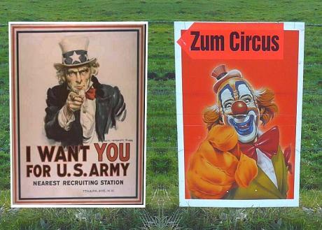 I want You: zum Zirkus