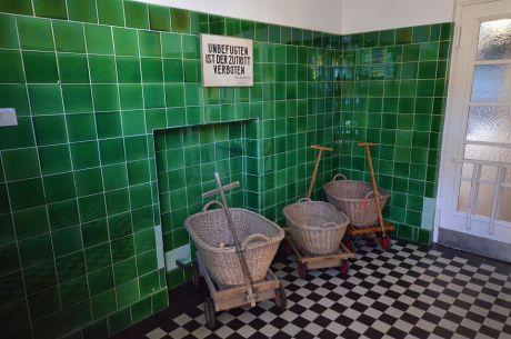 Zutritt nur für Befugte: Waschhaus Weegerhof